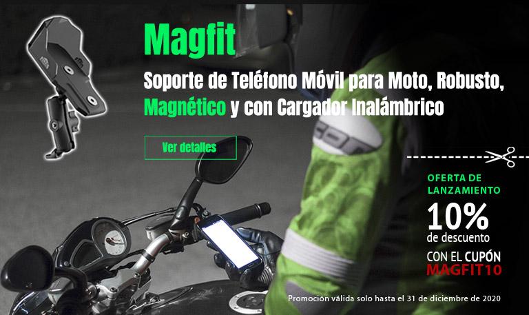 Soporte de teléfono móvil para moto